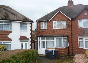 Thumbnail 1 bed semi-detached house to rent in Woodleigh Avenue, Harborne, Birmingham