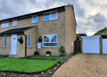 Thumbnail 3 bed semi-detached house for sale in Medeswell, Orton Malborne, Peterborough, Cambridgeshire