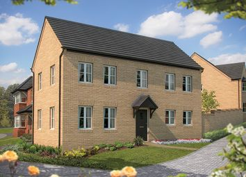 "Thumbnail 4 bed detached house for sale in ""The Montpellier"" at Irthlingborough Road, Wellingborough"
