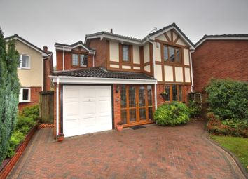Thumbnail 4 bed detached house for sale in Gwendoline Way, Walsall Wood, Walsall