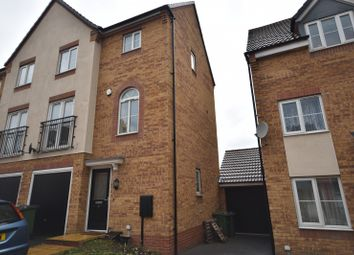 3 bed town house to rent in Wellingar Close, Thorpe Astley, Braunstone, Leicester LE3