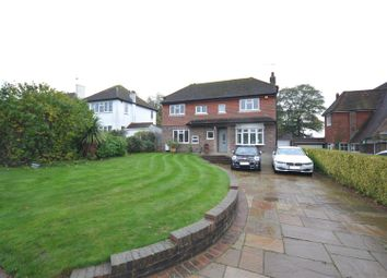 Thumbnail 3 bed detached house for sale in Warren Hill, Epsom