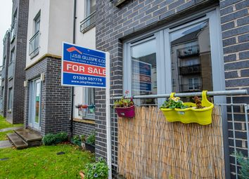 Thumbnail 2 bedroom flat for sale in Crookston Court, Larbert