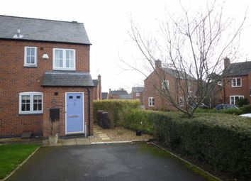 Thumbnail 2 bed town house for sale in Shotwood Close, Rolleston-On-Dove, Burton-On-Trent