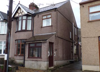 Thumbnail 3 bed semi-detached house for sale in Wern Road, Margam, Port Talbot