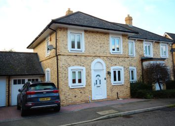 Thumbnail 3 bed semi-detached house for sale in Britten Close, Langdon Hills, Essex