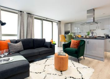 Thumbnail 2 bedroom flat for sale in Redclyffe Road, London - Greater London