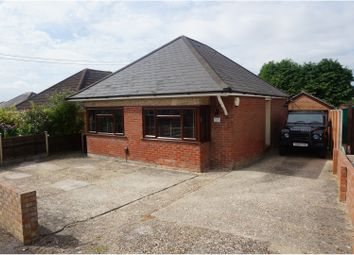 Thumbnail 2 bedroom detached bungalow for sale in Hinkler Road, Southampton