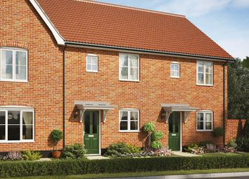 Thumbnail 1 bed terraced house for sale in The Sycamore, Reach Road, Burwell, Cambridgeshire