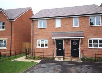 Thumbnail 2 bed semi-detached house for sale in Ashton Crescent, Pamington, Tewkesbury, Ashton Crescent