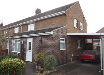 Thumbnail 3 bed end terrace house for sale in Stafford Avenue, New Balderton, Newark