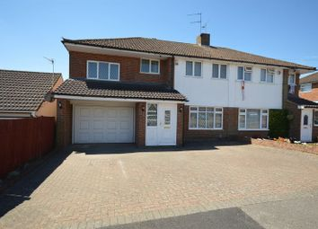 Thumbnail 5 bed semi-detached house to rent in Swasedale Road, Luton