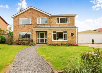 Thumbnail 4 bed detached house for sale in Crown Road, Christchurch, Wisbech