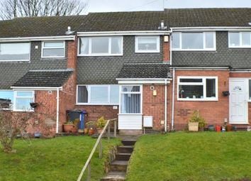 Thumbnail 3 bed terraced house for sale in Rectory Gardens, Off Rectory Lane, Armitage, Staffordshire