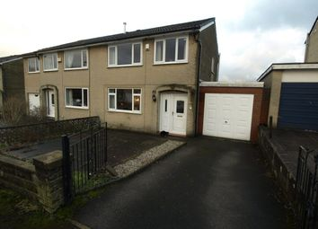 Thumbnail 3 bed semi-detached house for sale in Green Gardens, Golcar, Huddersfield