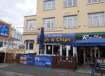 Thumbnail Commercial property for sale in The Cod End Chippy, 9, Cliff Road, Newquay