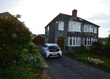 Thumbnail 3 bed semi-detached house for sale in Lon Irfon, Cockett, Swansea