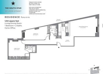 Thumbnail 2 bed property for sale in 80 John Street, New York, New York State, United States Of America