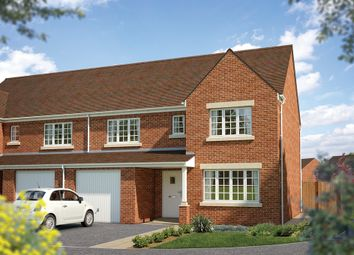 "Thumbnail 3 bed semi-detached house for sale in ""The Highworth"" at Townsend Road, Shrivenham, Swindon"