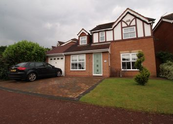 Thumbnail 4 bed detached house for sale in Thirlington Close, Westerhope, Newcastle Upon Tyne