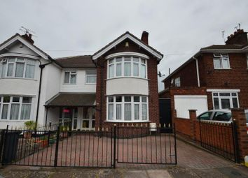 Thumbnail 3 bed semi-detached house for sale in Sandringham Avenue, Leicester