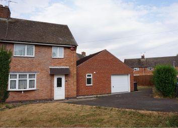Thumbnail 3 bed semi-detached house for sale in Chapel Close, Thurcaston