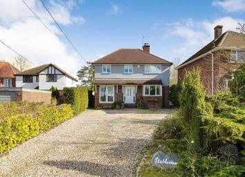 Thumbnail 4 bed detached house for sale in Ashmore Green Road, Ashmore Green, Thatcham