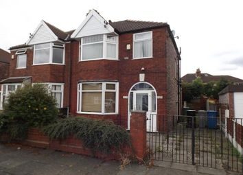 Thumbnail 3 bed semi-detached house for sale in Barkway Road, Stretford, Manchester, Greater Manchester