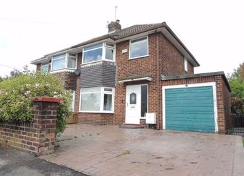 Thumbnail 3 bed semi-detached house for sale in Harris Avenue, Denton, Manchester
