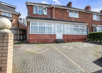 Thumbnail 5 bedroom end terrace house for sale in Drews Lane, Ward End, Birmingham, West Midlands
