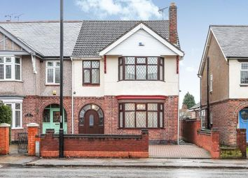 Thumbnail 4 bed semi-detached house for sale in Binley Road, Stoke Green, Coventry, West Midlands