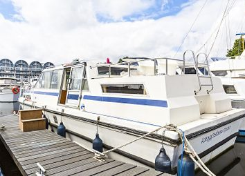 Thumbnail 2 bed houseboat for sale in South Dock Marina, Rope Street, London