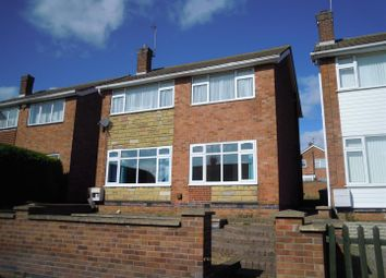 Thumbnail 3 bed detached house to rent in St. Peters Walk, Yaxley, Peterborough
