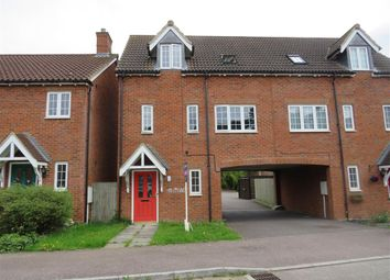 Thumbnail 2 bed town house for sale in Lovat Meadow Close, Newport Pagnell