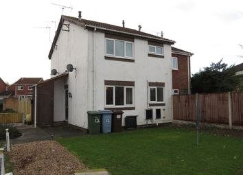 Thumbnail 1 bed town house for sale in Stable Close, Worksop