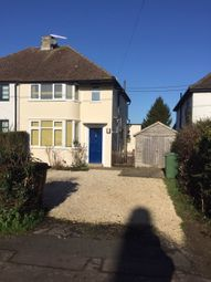Thumbnail 3 bed semi-detached house to rent in Norreys Road, Oxford