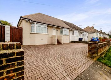 Thumbnail 3 bed semi-detached bungalow for sale in Busticle Lane, Sompting, Lancing