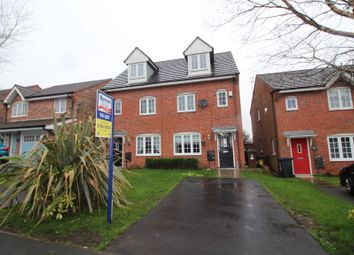 Thumbnail 3 bed town house to rent in Martindale Crescent, Newtown, Wigan