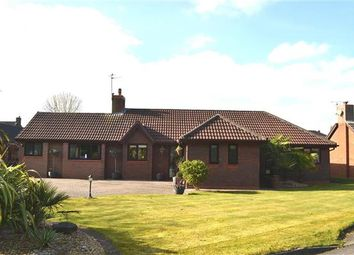 Thumbnail 4 bed detached bungalow for sale in Meadow Close, Pennington, Leigh