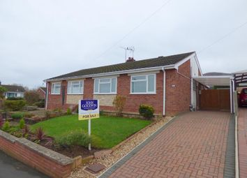 Thumbnail 2 bed semi-detached house for sale in 42, Meadway, Malvern