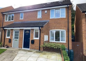 Thumbnail 3 bed semi-detached house for sale in Bittern Croft, Horbury, Wakefield