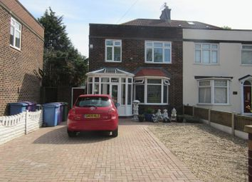 Thumbnail 3 bed semi-detached house for sale in Queens Drive, Liverpoo