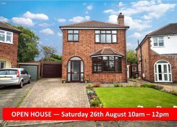 Thumbnail 3 bed detached house for sale in Stockwell Road, Knighton, Leicester