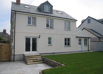 Thumbnail 4 bed detached house to rent in Pendeen, Penzance