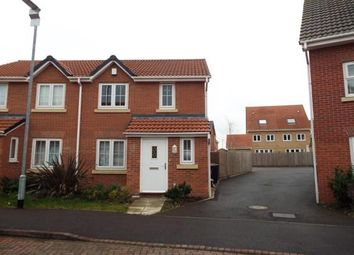 Thumbnail 2 bed semi-detached house to rent in Julius Way, North Hykeham Lincoln