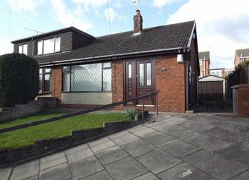 Thumbnail 2 bed semi-detached bungalow to rent in Marlborough Crescent, Stoke On Trent, Endon