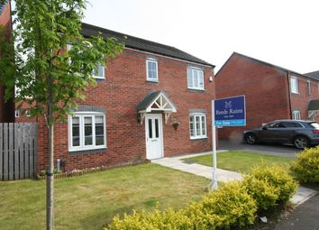 Thumbnail 4 bed detached house for sale in Gilkes Walk, Middlesbrough
