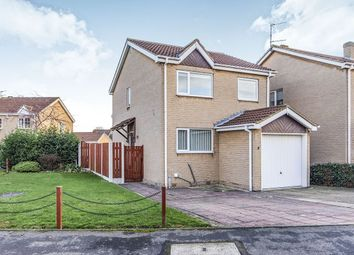 Thumbnail 3 bed detached house for sale in Crossfield House Close, Skellow, Doncaster