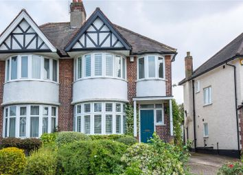 Thumbnail 3 bed semi-detached house for sale in Maxwelton Close, Mill Hill, London
