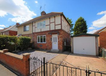 Thumbnail 2 bed semi-detached house for sale in Park Avenue, Uttoxeter